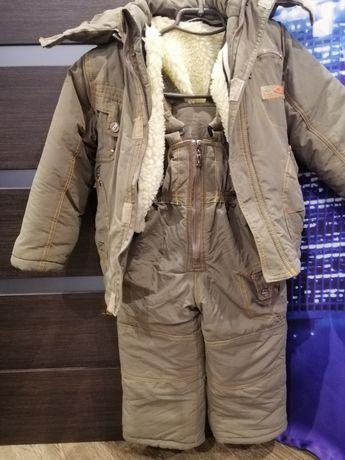 Комбенизон, куртка +штаны зимний раздельный
