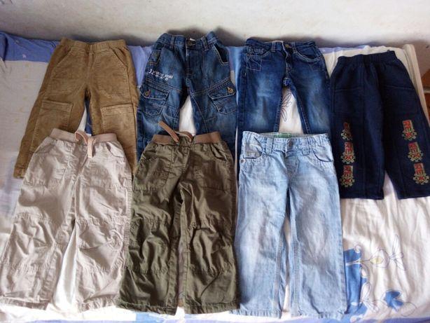 Spodnie chłopięce r.92 98 10sztuk