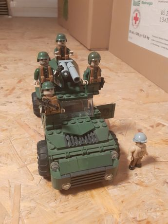 Klocki Cobi Samochód wojskowy