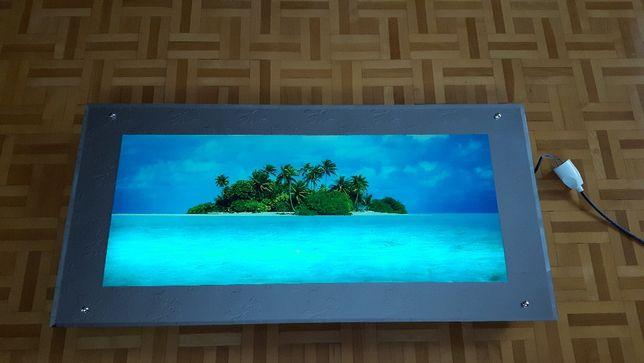 Obraz na ścianę podświetlany