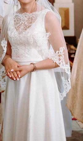 Suknia ślubna -  bardzo efektowna!