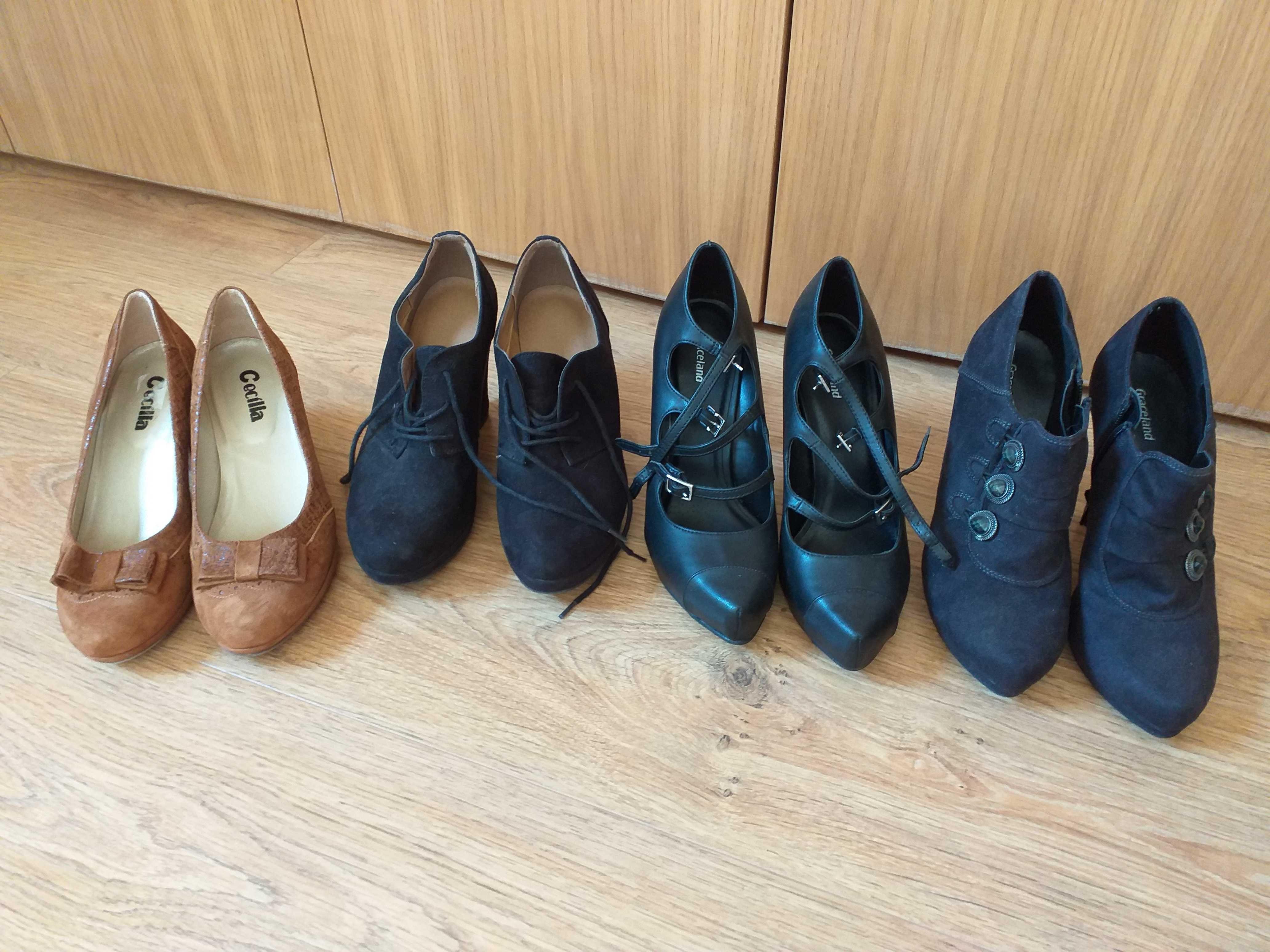 Vários pares de sapatos como novos