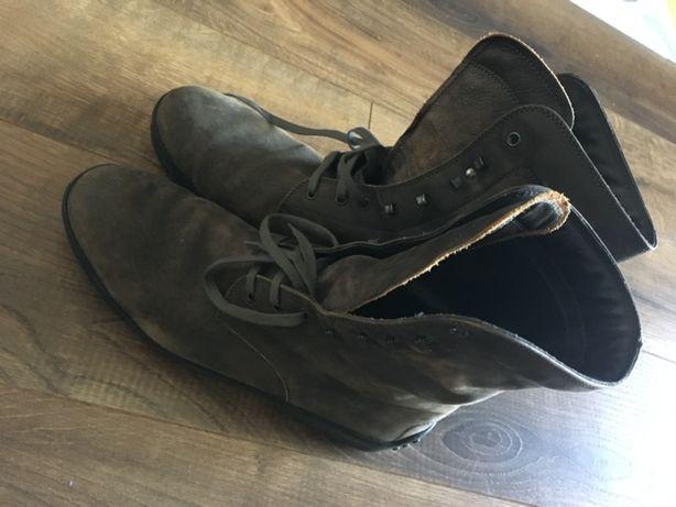 Buty męskie zamszowe za kostkę Tods Casual brązowe UK11, 47