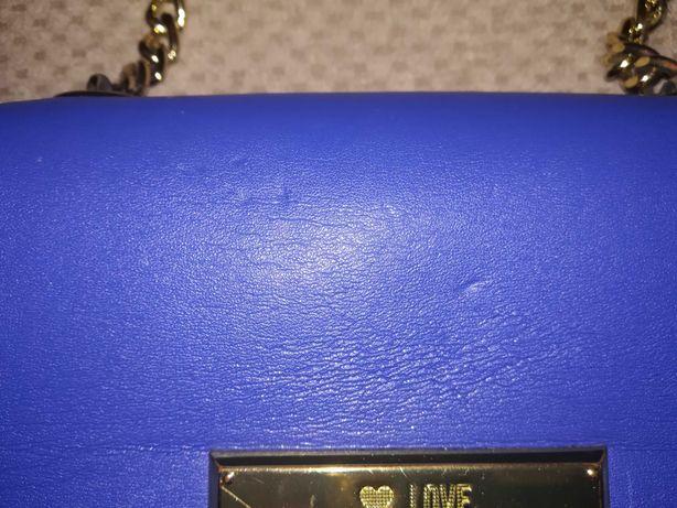 Torebka Moschino. Niebieska.