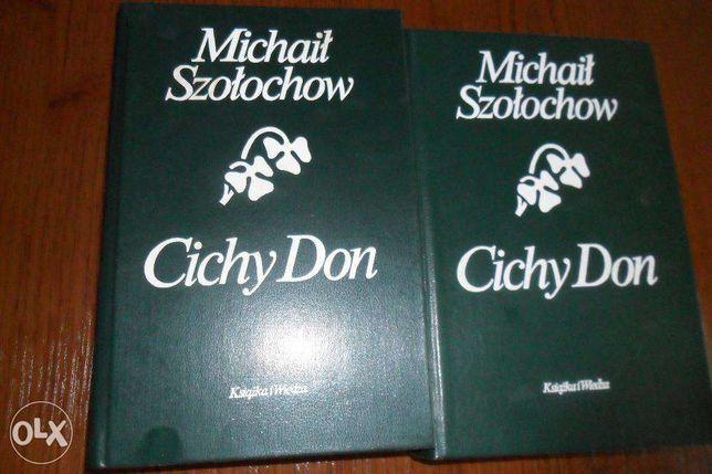 """Michaił Szołochow """"Cichy Don"""" (cena za komplet)"""