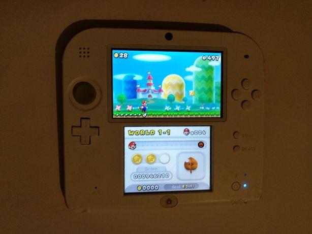 Konsola Nintendo 2DS + gra new super mario bros 2 special edition