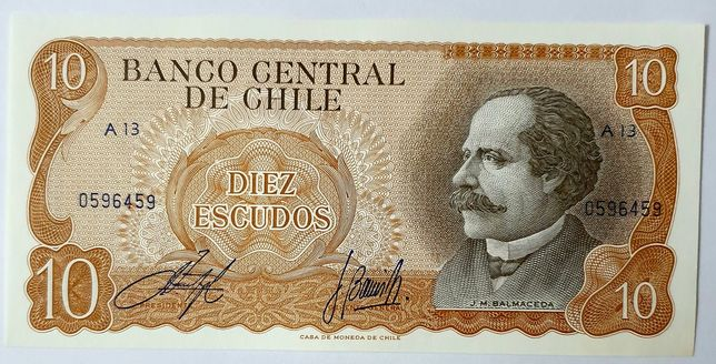 Banknot CHILE unc
