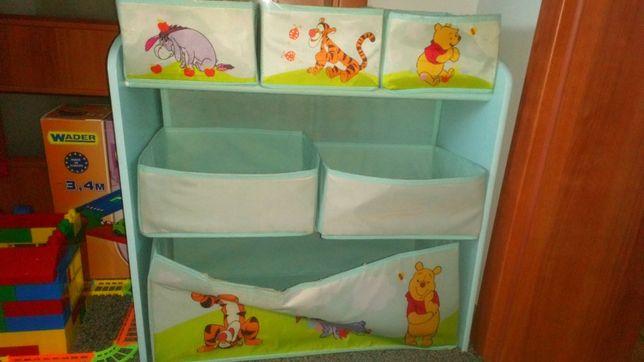 Organizer na zabawki / komoda Kubuś Puchatek - Disney