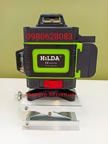 Hilda 4d 16 линий, зелёный лазерный уровень