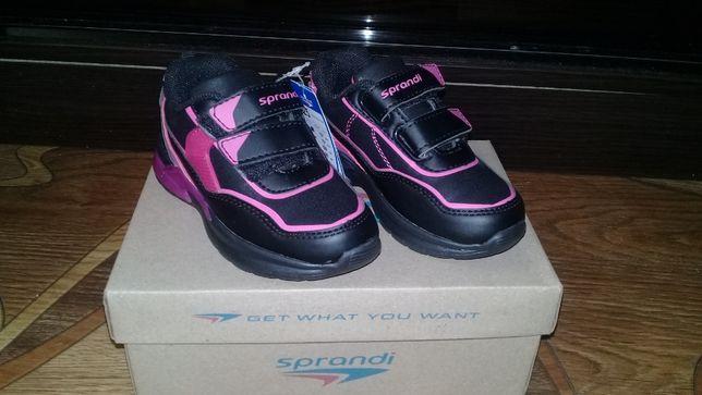 Мигающие кроссовки для девочки Sprandi 25 размера (CP23-5805)