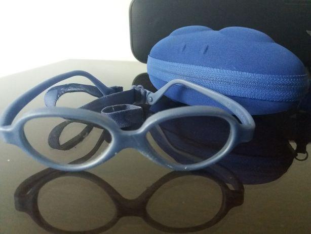 oprawki Miraflex okularki dla chłopca