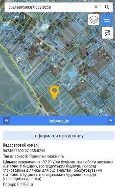 Земельна ділянка на відстані 3 км від Рівного. Під ЗАБУДОВУ)