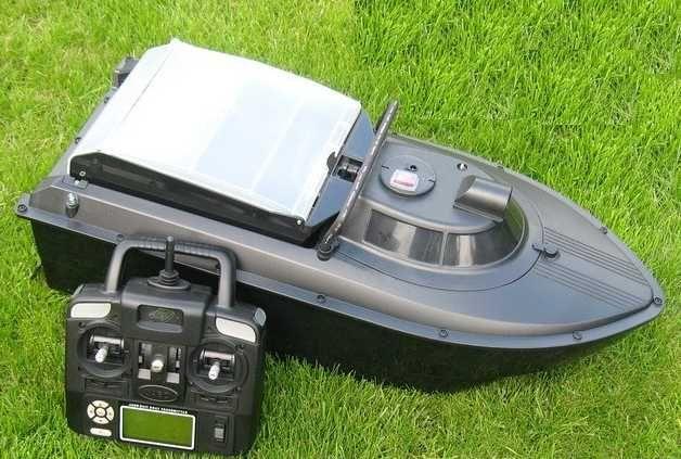 Кораблик прикормочный с эхолотом  автопилотом JABO-2CG-20AL с GPS