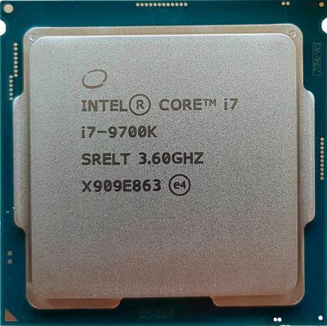intel core i7 9700k 23000p гарантия 3 мес.