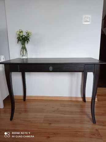 Stół, stolik, biurko, konsola IKEA Leksvik. Czarne. Transport