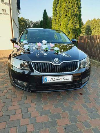 Auto do ślubu Skoda Octavia III