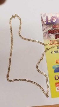 Złoty Łańcuszek 4,39g P.585!  Długość 46 cm Lombard Dębica