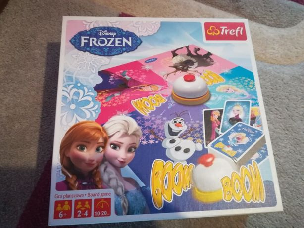 Gra Boob Boom Disney Frozen