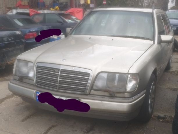 Mercedes W124 sportline Kombi 1991r 2,5 Diesel 69kW HAK ALU Śmiga