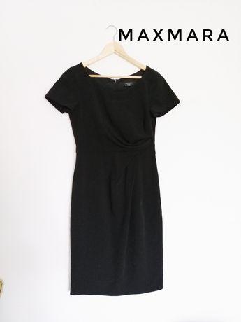 Sukienka czarna klasyczna MaxMara r. 36