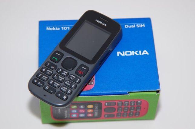 Nokia 101 Dual Sim slot na kartę pamięci Mp3 Latarka