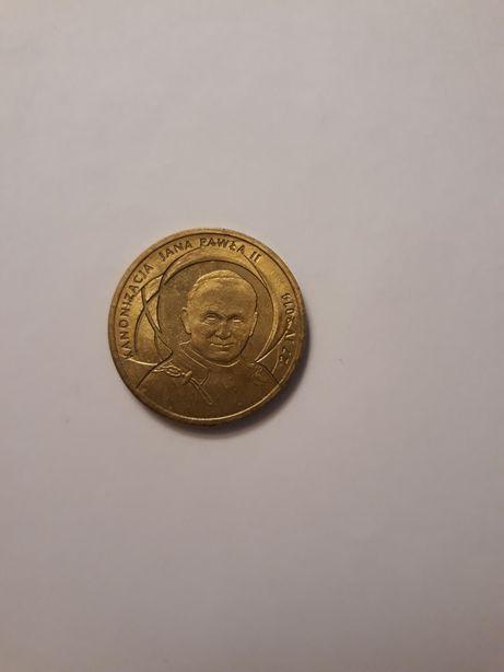 Moneta 2 zł z 2014 roku