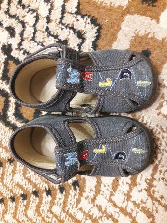Детские сандали фирмы waldi, джинсовые, 21 размер