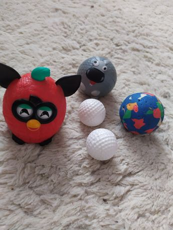Piłki różne i furby
