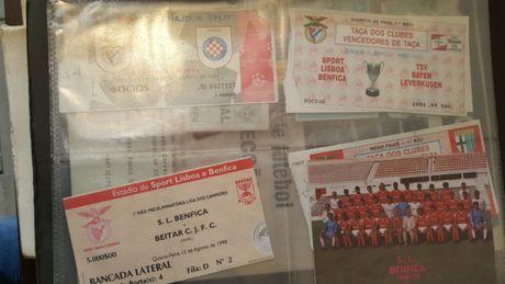 Bilhetes de futebol