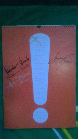 Pakiet Autografów na Kalendarzu Dżentelmeni 2015