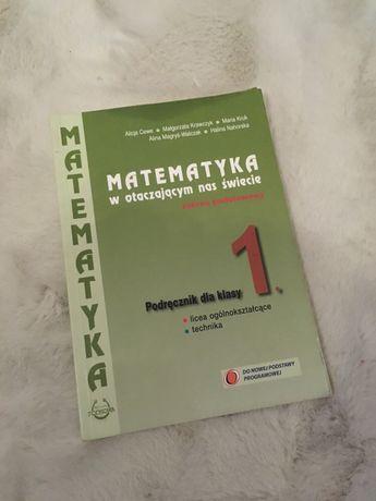 Podręcznik do technikum Matematyka 1