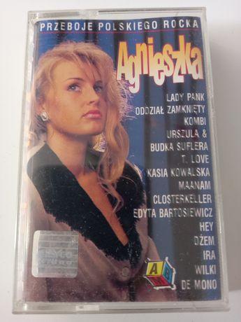 Kaseta magnetofonowa Agnieszka Przeboje Polskiego Rocka
