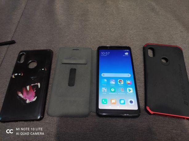 Xiaomi redmi note 5 3/32 (+ 2 бампера,чехол книжка и пленка)