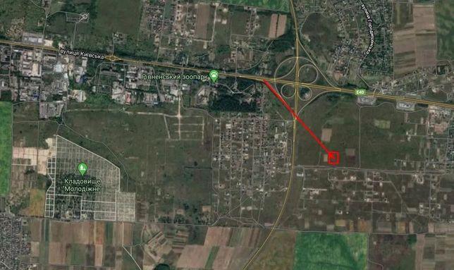 Продам земельну ділянка неподалік Рівного