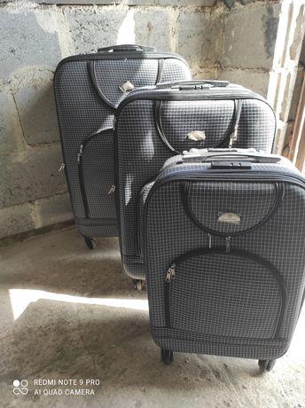 Komplet walizek nowych
