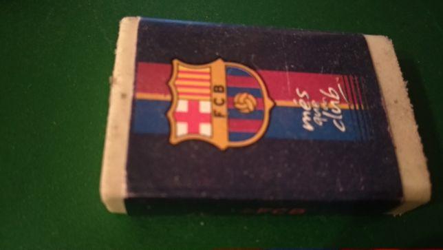 канцтовары ластик резинка FCB Barcelona футбол