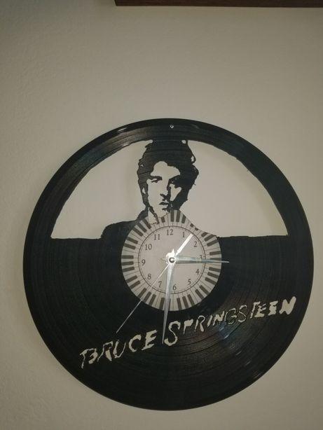 Relógio de Parede em Vinil - Bruce Springsteen