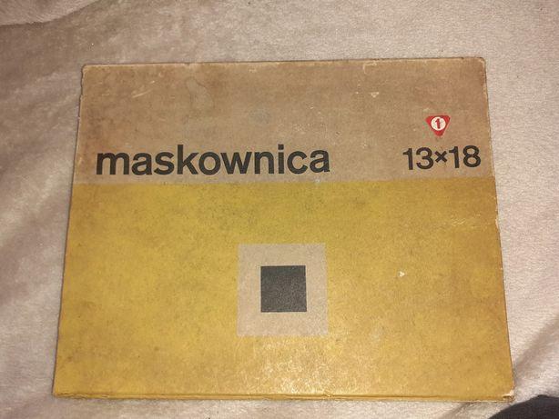 15zl Państwowe zakłady optyczne maskownica 13×18