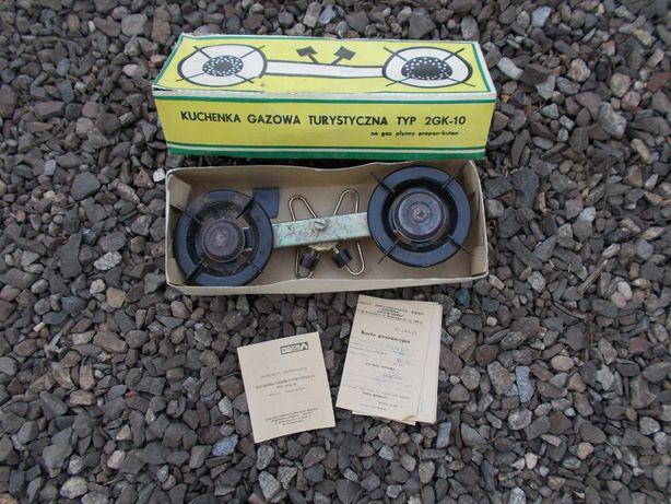 Kuchenka gazowa turystyczna PRL typ 2GK-10