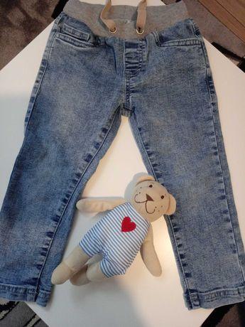 Jeansy chłopięce Smyk