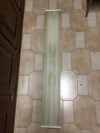 Armadura Lâmpada fluorescente 120cm cozinha