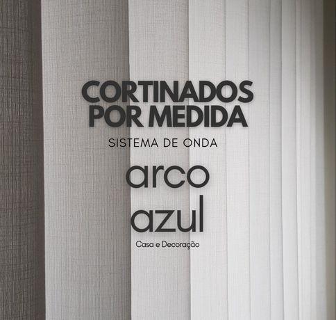 Cortinados / Cortinas por Medida com efeito onda / wave By Arcoazul