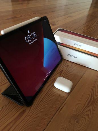 Ipad Pro 11'' 256GF Wifi + Pencil + Airpods - c/garantia