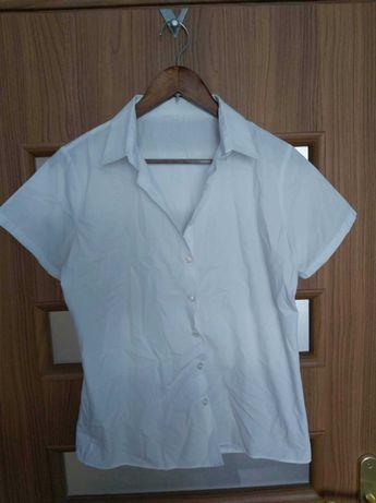 Biała koszula młodzieżowa