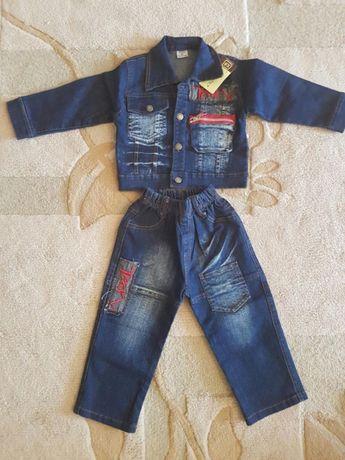 Новый джинсовый костюм
