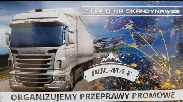 Transport Szwecja Norwegia Dania Polska Skandynawia