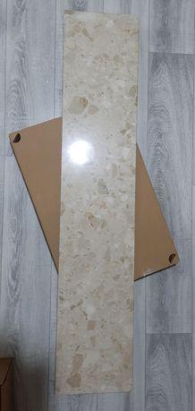 Parapet wewnętrzny 24,5 x 122 x 2 cm