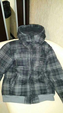 Куртка зимняя на синтепоне на мальчика.на рост 150-160.покупали в Герм