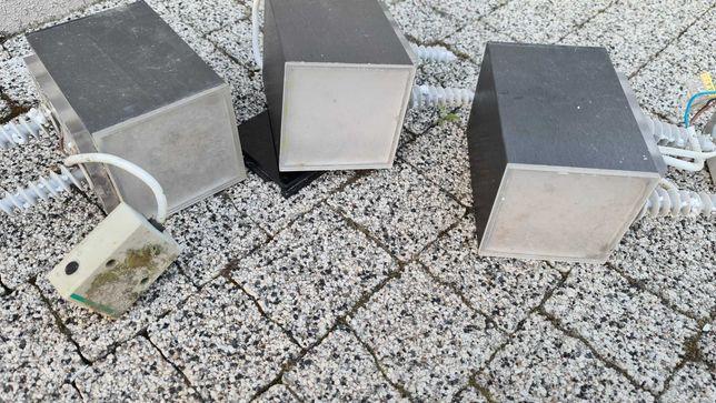 Lampy zewnętrzne kostki zewnętrzne aluminiowa obudowa