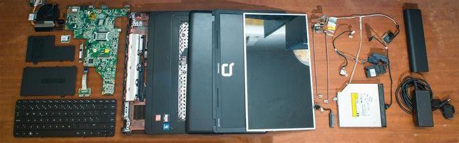 Portátil HP Compaq Presario CQ57 para peças